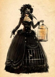 THE IDEAS | Theatre Bizarre  love the corset cage idea. what's in the cage? What's animating the dress?