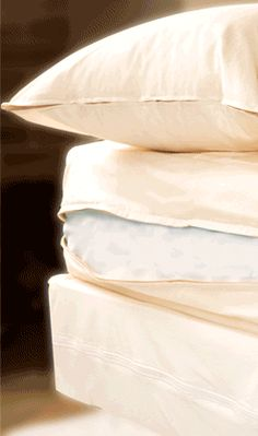 Allergy Armor Organic is made from the only non-dyed, non-treated, lab-tested organic dust mite barrier fabric in the U.S. If you suffer from allergies as well as chemical sensitivities, then Allergy Armor Organic is for you. It's completely free of polyester, urethanes, dyes, and other chemicals commonly found in bedding. These zippered covers are available for pillows, mattresses, and duvets.