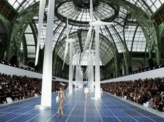 Karl Lagerfeld takes inspiration from renewable energy for Chanel Spring/Summer 2013 at Paris Fashion Week