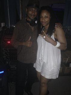 Kool FM Dj Craig Ross also of - Merritones & Music Media Management @ Waterfalls Night Club - Kingston Jamaica June 2015 ... #medianet55