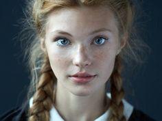 Fotografía Dasha por Alexander Vinogradov en 500px