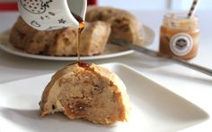 Bundt Pudding de pains au sirop d'érable