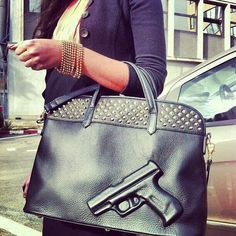Now thats a purse!