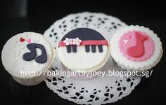 Baking Art by Joey: Happy Children's Day ~ Music Theme Cupcakes