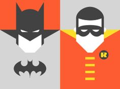 Forma & Co — Re-Vision — Pop Culture Icons — Batman & Robin