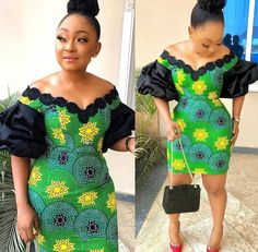 Ankara Splash Of Colors: Style Up Your Next Owambe With These Eye-Popping Ankara Fashion Short African Dresses, Short Gowns, Latest African Fashion Dresses, African Print Dresses, African Print Fashion, Ankara Fashion, African Prints, Africa Fashion, African Fabric