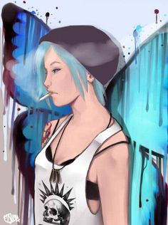 Life Is Strange - Chloe Price Life Is Strange Fanart, Life Is Strange 3, Chloe Price, Dontnod Entertainment, Arcadia Bay, Chef D Oeuvre, Kawaii, Ghost Rider, Games For Girls