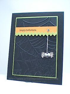 Googlie Spider by pdncurrier - Cards and Paper Crafts at Splitcoaststampers