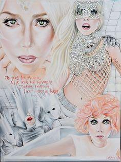 Lady Gaga Bad Romance art