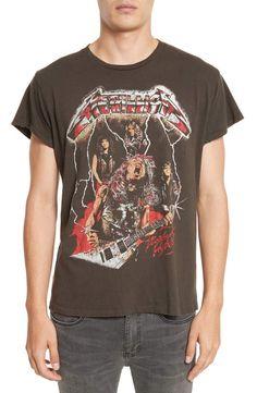 Officiel metallica-kirk mummy guitar-men /'s t-shirt noir
