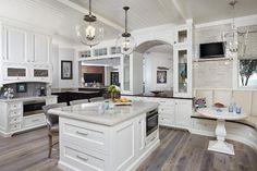 Classic Gambrel-Style Shingle Home