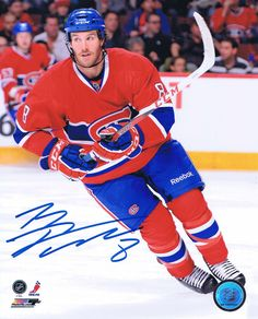 Brandon Prust Signed 8x10 Photos! http://www.memorabiliastar.com/apps/webstore/products/show/5576251 #ice #deal #sports #display #gifts #frame #player #puck #jersey