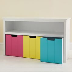 Easy Reach Storage Unit Coloured Drawers Toy Units