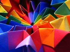 Origami Thingy - Who Cares... It's Colorful!