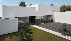 House on the line of the horizon in Poland by KMA