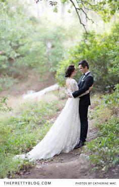 Schöne, italienisch inspirierte Hochzeit.