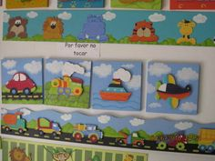 Fotos de LINDOS CUADROS EN MDF PINTADOS EN COUNTRY  30 X 30 Bogotá, D.C. Arte Country, Pintura Country, Safari Decorations, School Decorations, Felt Pictures, Country Paintings, Childrens Gifts, Patch Quilt, Handmade Toys