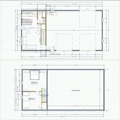 40x60 shop with living quarters floor plans pole barn for Metal building with apartment plans
