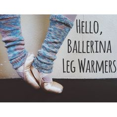 Free Ballerina Leg Warmers Knitting Pattern