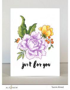 Peony Bouquet -purple
