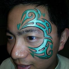 honolulu tribal face painting - Google Search