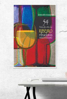 diseno-imagen-cartel-feira-do-viño-do-ribeiro-2017