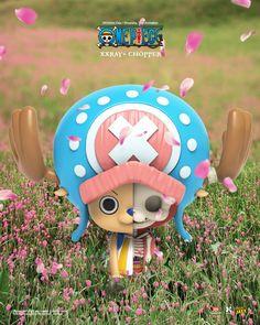 New from Mighty Jaxx: One Piece XXRAY Plus Chopper! #Anime #Cartoon #Exclusive #Licensed #MightyJaxx