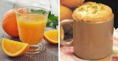 7 Benefícios da laranja bolo de laranja na caneca