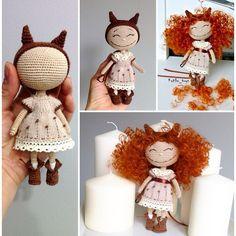 Покажу этапы преображения девчули Мне кажется она и без кучеряшек мило выглядит. #doll#instadoll#crochet#handmade#cat#crocheting#instacrochet#kotiko_toys#kotiko#интерьер#вязаннаякукла#подарок#котико#кукла#вязаниеназаказ#toys#инста_ярмарка#человечки#инстамама