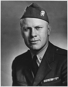 GERALD R. FORD JR. United States Navy Lieutenant Years of service: 1942–1946. Served on USS Monterey. Earned 10 battle stars.