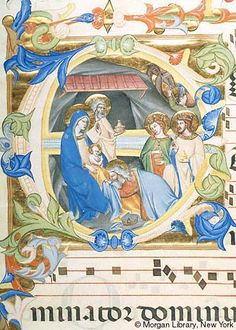 Gradual, MS M.653 no. 5 (I.15) - Images from Medieval and Renaissance Manuscripts - The Morgan Library & Museum