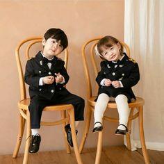 Cute Asian Babies, Korean Babies, Asian Kids, Cute Baby Cats, Asian Cute, Cute Baby Boy, Cute Little Baby, Little Babies, Outfits Niños