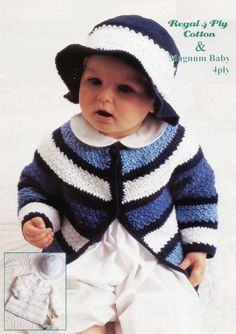 picot edge dress in DK wool Cute Duck KNITTING Pattern fits 19-21 chest