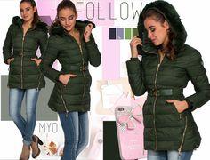Military Jacket, October, Winter Jackets, Fashion, Winter Coats, Moda, Field Jacket, Winter Vest Outfits, Fashion Styles