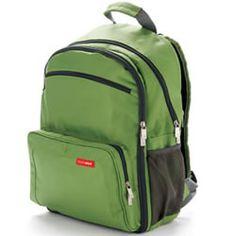 skip hop via backpack diaper bag in black ohhhh baby pinterest. Black Bedroom Furniture Sets. Home Design Ideas