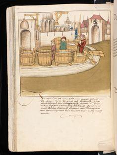 Bern, Burgerbibliothek / Mss.h.h.I.16 – Diebold Schilling, Spiezer Chronik / p. 100