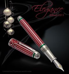 Conway Stewart Elegance Pen of the Year 2011, aka The Christmas Pen