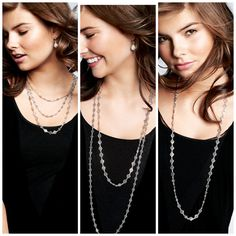 So many ways to wear the Devon Layering Necklace!
