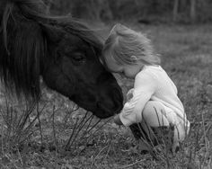 My daughter and her pony.  Timeless and classic.  I threw myself in a big, Big pile of horse poo to get the shot.  And yes, it was worth it :)