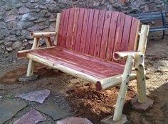 Bon Aromatic Red Cedar Bench From Wild West Creations · Cedar BenchLog FurnitureRed  ...