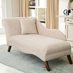 Home Interior, Chaise Lounge as Comfortable in Star Hotel: White Chaise Longue For Bedroom Chaise Lounge Indoor, Chaise Chair, Lounge Sofa, Chaise Lounge Bedroom, Comfy Chair, Outdoor Lounge, Bedroom Couch, Bedroom Decor, Fancy Bedroom