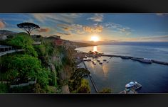 Sorrento is a small town in Campania, southern Italy