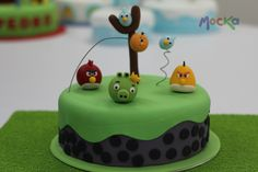 #AngryBirds  www.mocka.co  #mocka #pasteleria #cake #cakeshop #ponque #pastel #torta #birthdaycake #tortacumpleaños