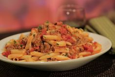 "Michael Symon's Fresh Rigatoni with Chorizo -- My mom just gave me this recipe. It's one of her favorites from ""The Chew"""