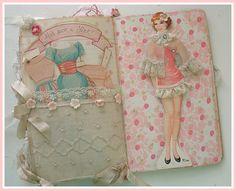 pretty paper doll organizer.....favor?
