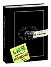 Memorandom   A Journal for Lists, Memories, and Miscellany  Got it!