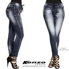 Atrévete a lucir nuestro jean jogger, le dará a tu #look un toque autentico, casual y descomplicado. #KenzoJeans www.kenzojeans.com.co