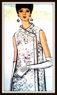 Vintage Vogue Rare Pattern  7238  Misses' Dress by ThePatternShopp, $95.00