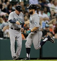 Two home runs tonight for Dustin Ackley!! Mariners win!!