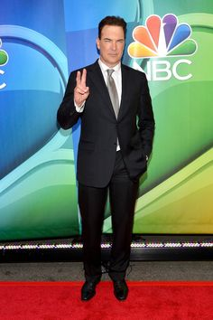 Patrick Warburton attends The 2015 NBC Upfront Presentation at Radio City Music Hall on May 11, 2015 in New York City.